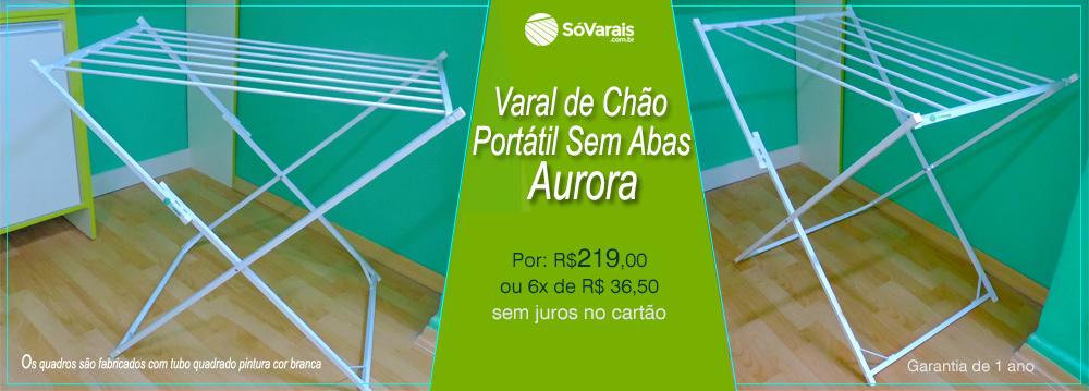 Banner Varal de chao sem abas Aurora Sóvarais