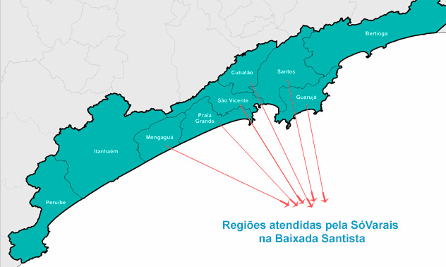 Sóvarais-Vendas e Instalação de Varal e Varais na Baixada Santista
