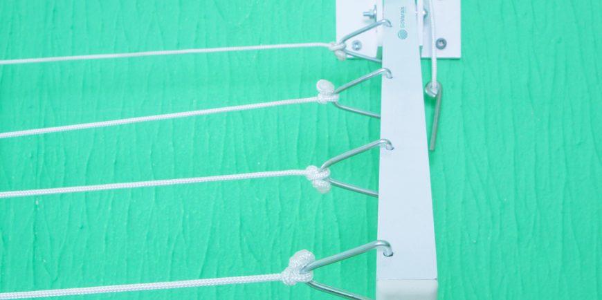 Varal de corredor retr til s varais fabricado em alum nio for Tubos de aluminio para toldos